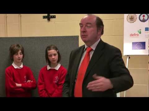 FYT Bus launch with Norman Baker - Video Report