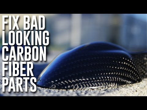 Repair Carbon Fiber Parts To Mirror Finish (With Epoxy Coating Resin)