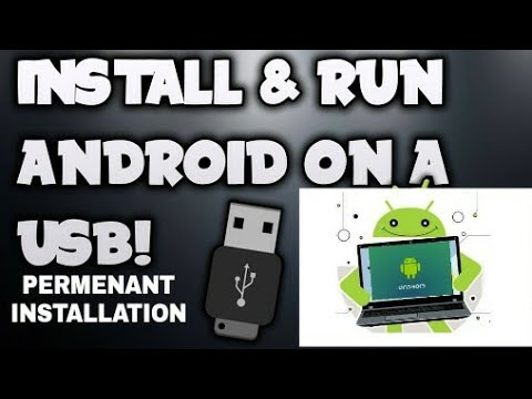 ANDROID X86 PERMANENT INSTALLATION ON USB PENDRIVE