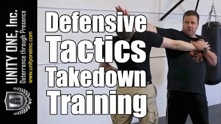 Security Guard Training - Defensive Tactics Takedown | Unity One, Inc.