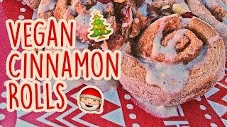Cinnamon Roll Rum Cakes Recipe [Vegan + WSLF + Oil Free] | What I Eat on Christmas Morning