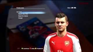 NEW FACE & HAIR WILSHERE 2014 2015  PES 2013   DESCARGA Thumbnail