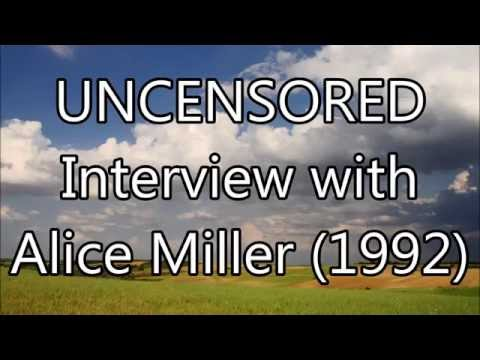 Interview with Alice Miller, November 1992 [interview]