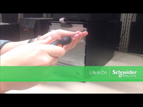 Performing Logic Reset On Apc Smart Ups Smt Smx Series Schneider
