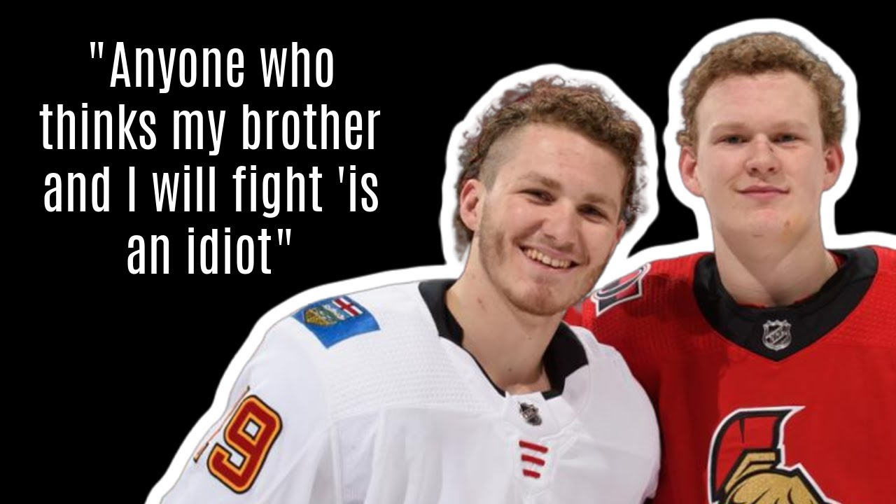 Tkachuk Brothers: Can't Fight Each Other? This May Be Their Plan B