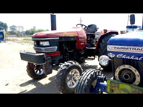 Farmtrack & Mahindra tractor participate in kamana Tochan competition