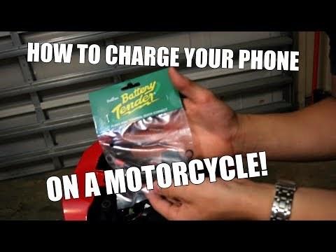 How To Install Battery Tender Quick Disconnect!