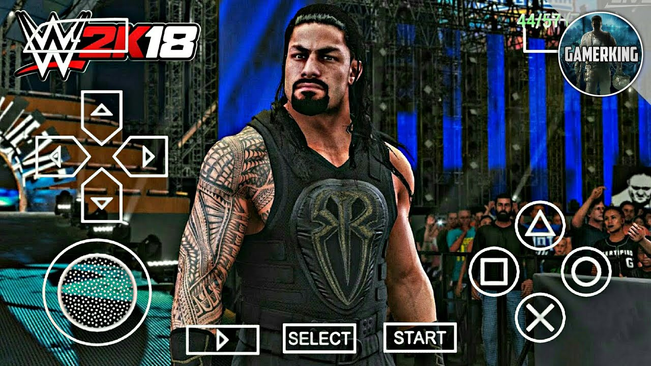How To Download WWE 2K18 On Android For Free | WWE 2K18 PPSSPP Android  Gameplay