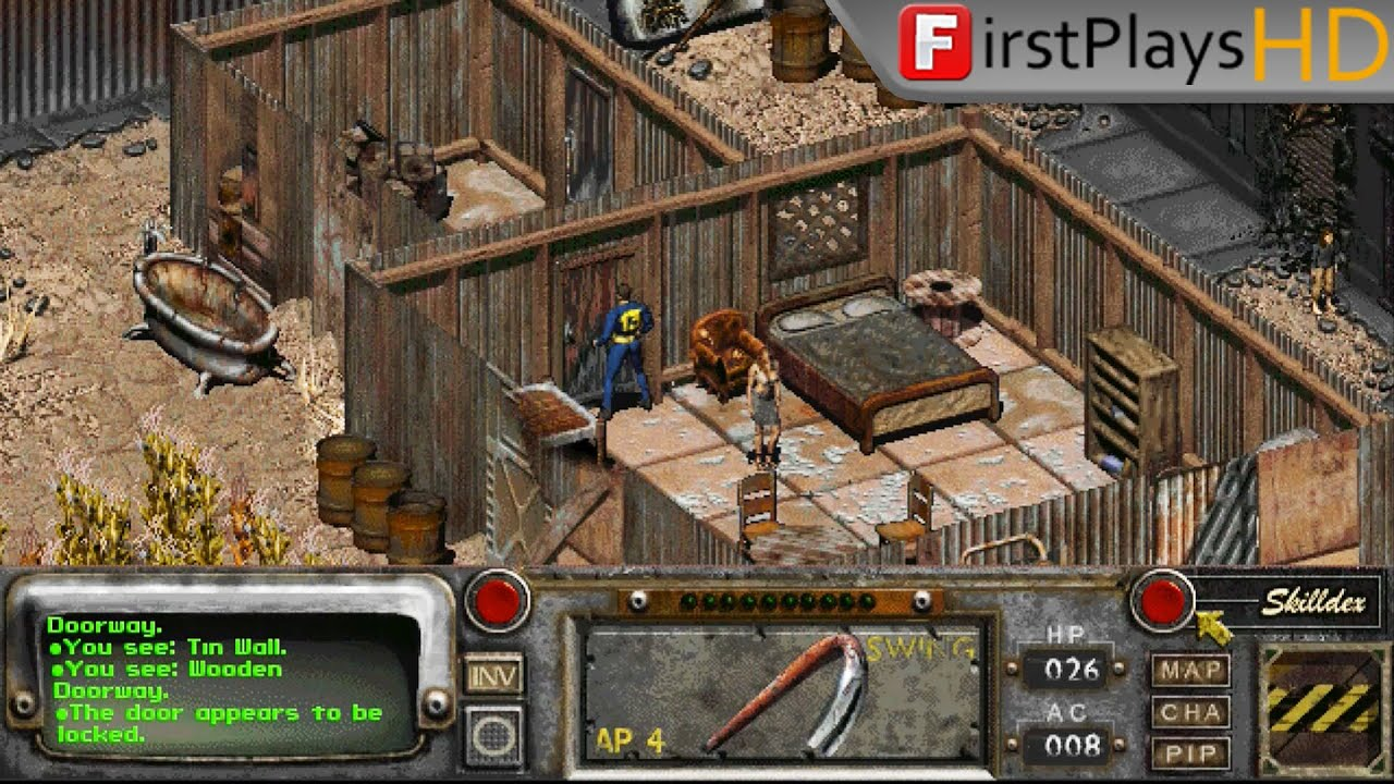 Fallout 2 (1998) - PC Gameplay / Win 10