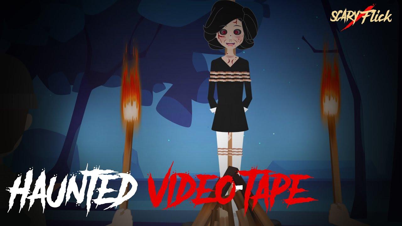 Haunted Video-Tape I Animated Horror Story In Hindi I Scary Flick E86