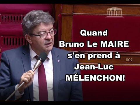 QUAND BRUNO LE MAIRE S'EN PREND A JEAN-LUC MÉLENCHON!