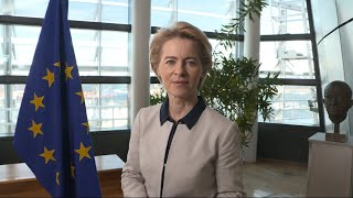 #vdLcommission: Presentation message by Ursula von der Leyen