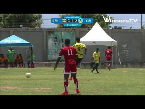 Windward Islands School Games 2018 - Football - ST. LUCIA vs GRENADA 1st Half