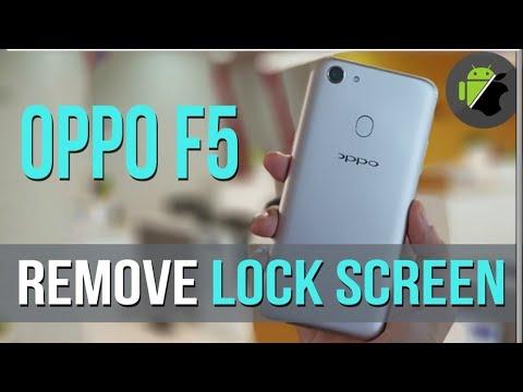 oppo f5 youth (CPH1725) Flash Hard Reset Pattern Unlock