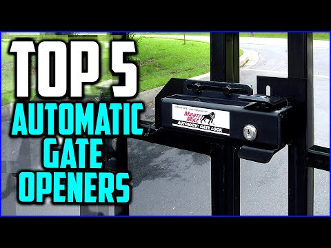Top 5 Best Automatic Gate Openers In 2020 Reviews