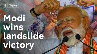 Modi declares victory in India election - what next?