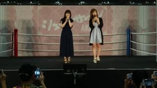 2017-06-24-気まぐれオンステージ 村中有基 森田彩花 NMB48