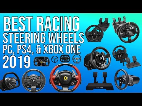 BEST RACING WHEEL (2019) FOR PC, PS4 & XBOX ONE | TOP RACING WHEELS 2019