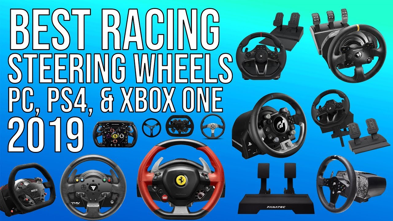 72088b64edf BEST RACING WHEEL (2019) FOR PC, PS4 & XBOX ONE | TOP RACING WHEELS ...