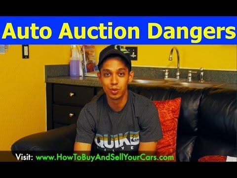 Why Buying Cars From Auto Auctions Can Be Potentially Dangerous