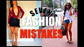 TOP FASHION MISTAKES WOMEN ALWAYS MAKE!! | Fashion Hacks