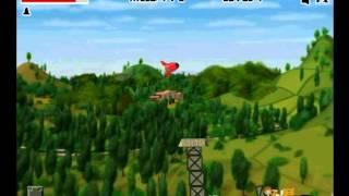 Zerstören Sie das Dorf - Videospiel