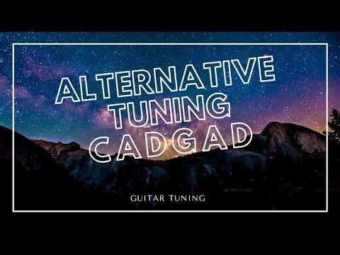 GUITAR TUNER   CADGAD TUNING 6 string