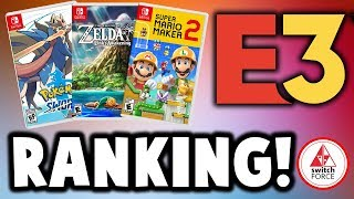 Ranking Nintendo's E3 2019 Lineup! SO MANY GAMES!