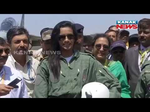P V Sindhu Flies In Tejas Aircraft In Bangalore