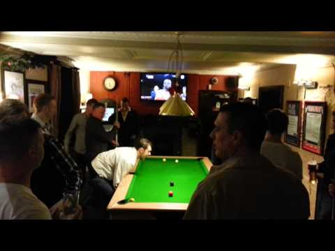 Tipping a pool table over royal oak nailsea
