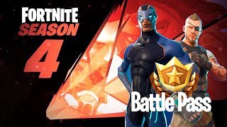 FORTNITE SEASON 4, ALL ABOUT THE BATTLE PASS! EST-CE QUE ÇA EN VAUT LA PEINE?