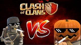 """Probando Esqueleto Gigante y Bárbaros """"Clash Of Clans """""""