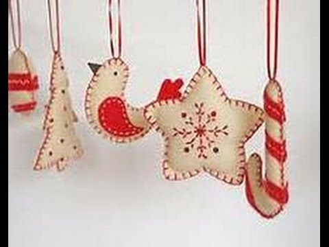 Felt Cloth Fabric Christmas Ornaments