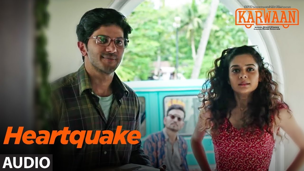 Heartquake Full Audio Song |  Karwaan | Irrfan Khan, Dulquer Salmaan, Mithila Palkar |  Papon