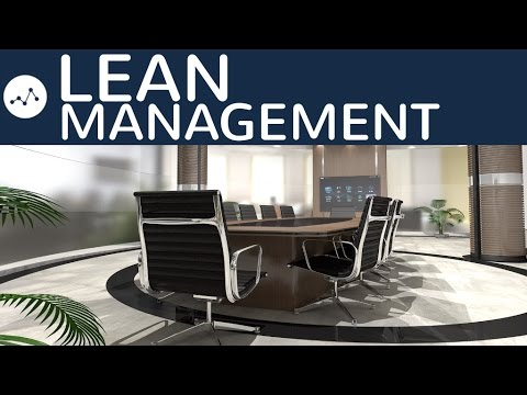 Lean Management einfach erklärt - Definition, Produktion, Personal, Kunden, Pro & Contra