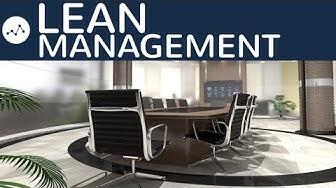 Lean Management einfach erklärt - Definition, Produktion, Personal, Kunden, Pro & Contra