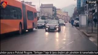 Përshkuan karexhatën kundërvajtje. Policia Rrugore tërheq 7 leje drejtimi - Policia e Tiranës