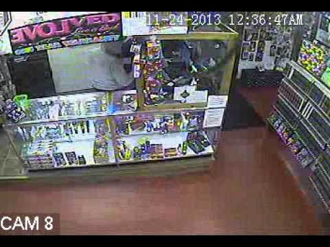 Carnival Book Store - Robbery Video
