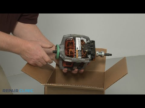 Dryer Drive Motor Replacement - Electric Washer/Dryer Combo (Model #WET4027EW0)