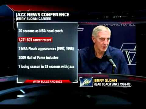 Jerry Sloan Resigns