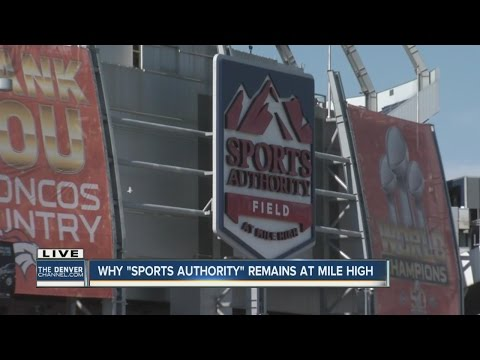 Why Sports Authority Field signs can