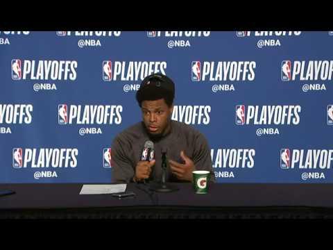 Kyle Lowry Postgame Interview   Cavaliers vs Raptors Game 3