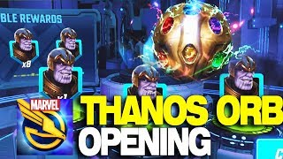 Marvel Strike Force - Infinity War Thanos Orbs Opening!