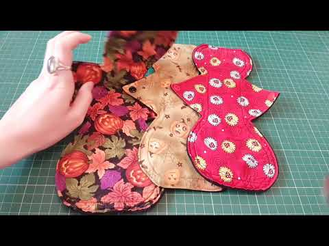Updates and Q & A Cloth Menstrual Pads - Sewing and Buying