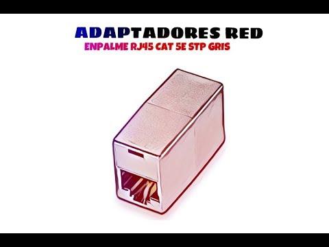 Video de Empalme RJ45 CAT5e STP  Gris
