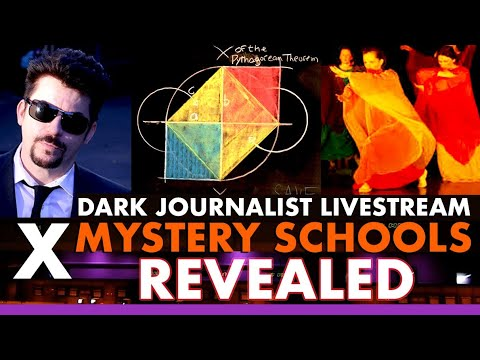 Dark Journalist X-Series 100 (2) Mystery Schools Revealed! Steiner Sarobia & Stelle!