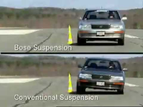 BOSE Active Suspension comparison
