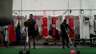 Strength & conditioning training with SAS