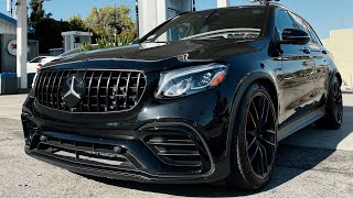 GLC63 AMG Mercedes Benz Cosmetic Mods, G63 Satin Black, Shipping 1000 RDB Masks!