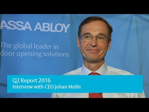 Q2 Report 2016 - Interview with ASSA ABLOY CEO Johan Molin